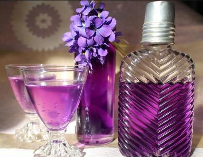 The Color Violet